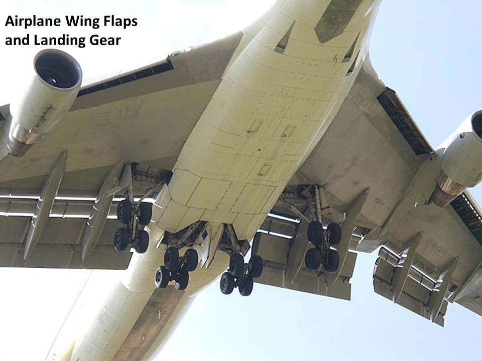 Airplane Wing Flaps and Landing Gear