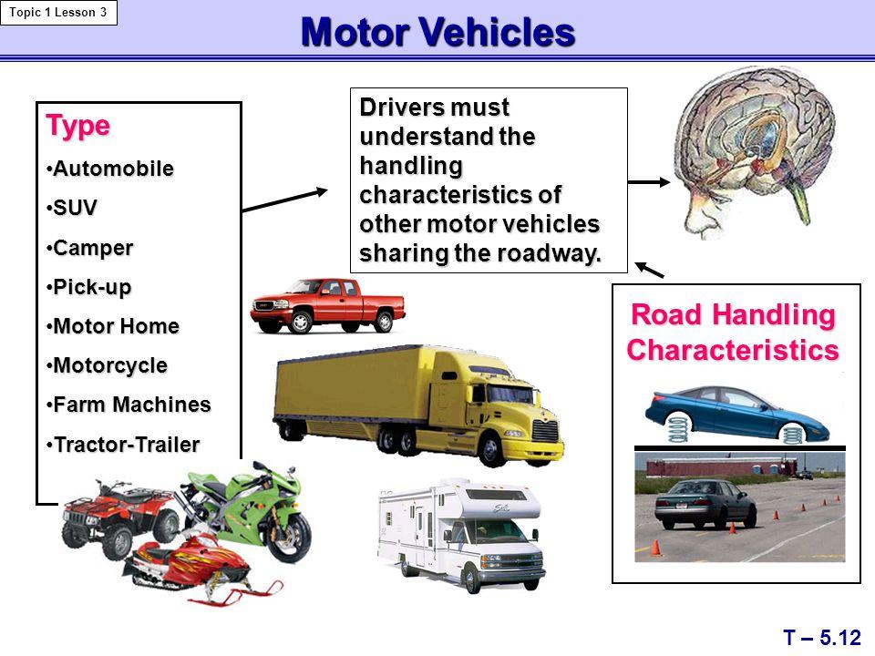 Road Handling Characteristics