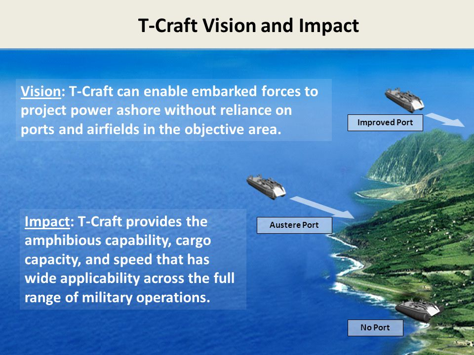 T-Craft Vision and Impact