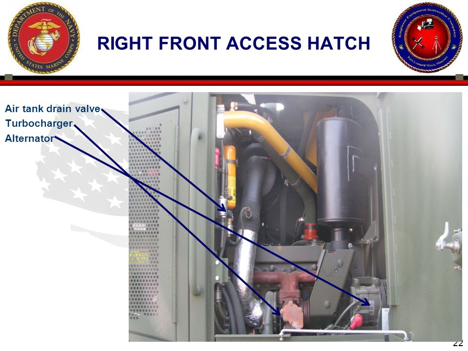 right front access hatch