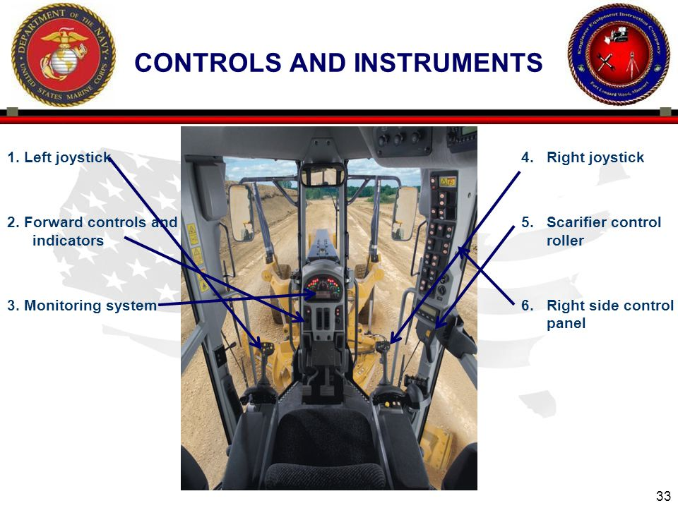Controls and instruments