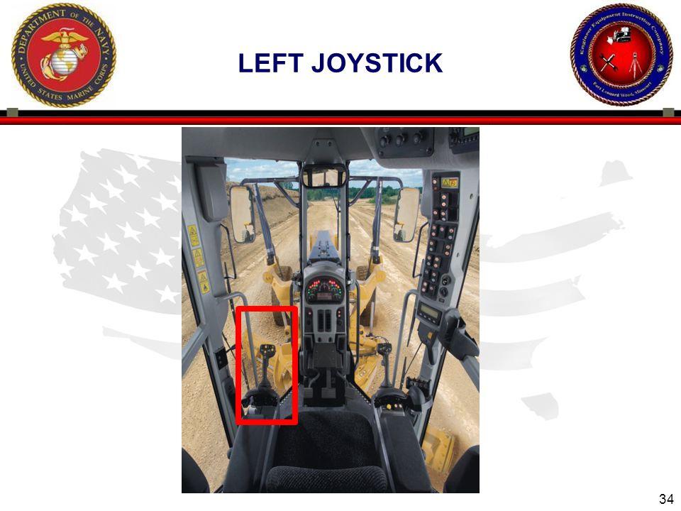 Left joystick