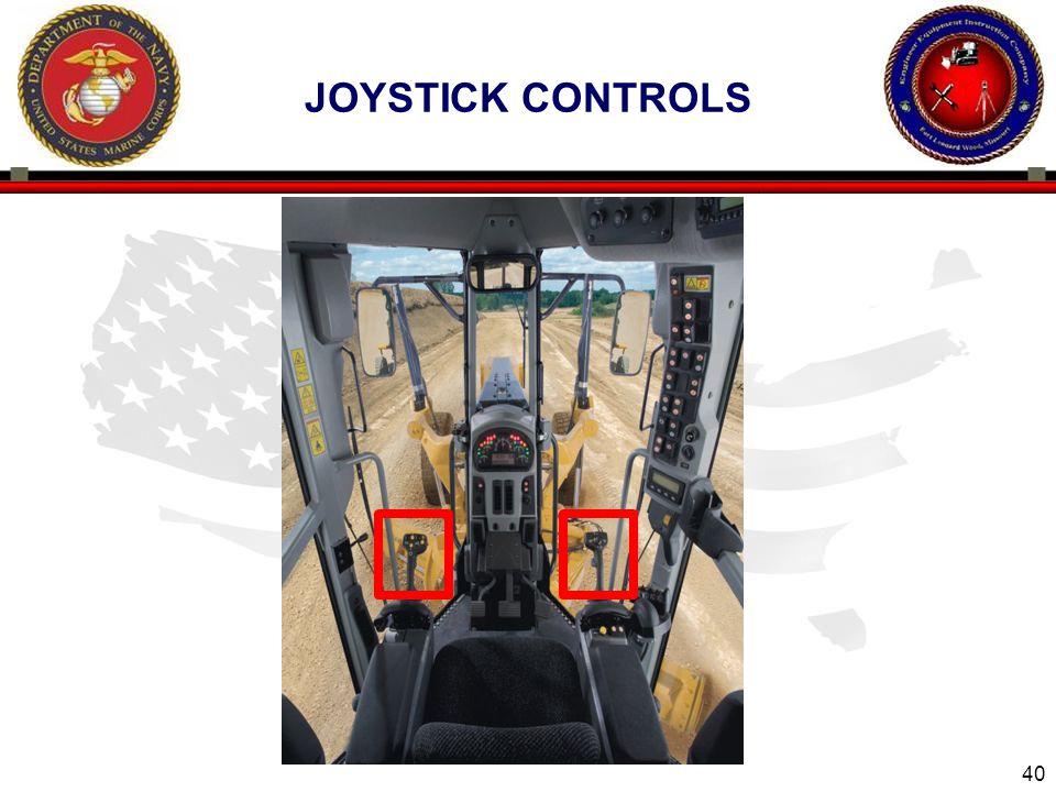 Joystick controls