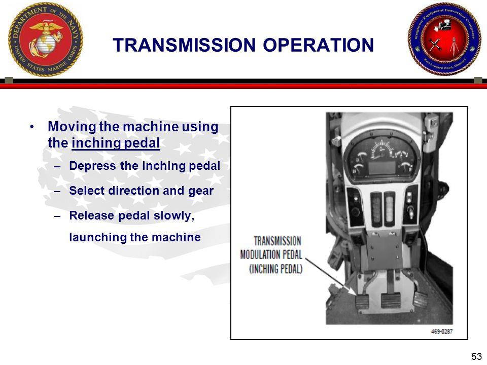 Transmission operation