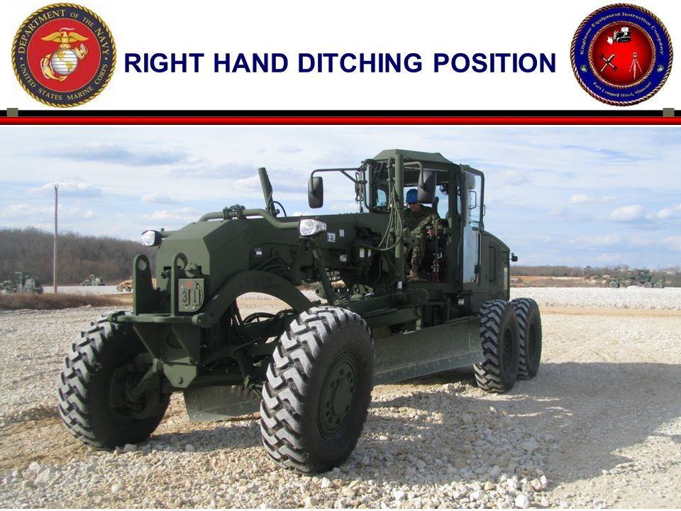 Right hand ditching position