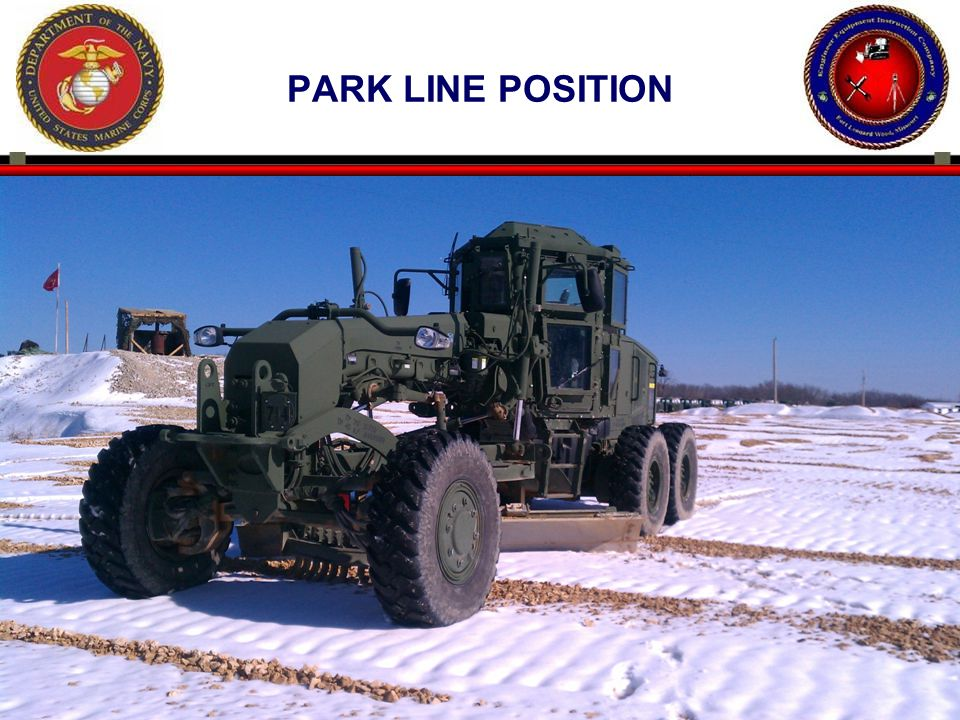Park line position