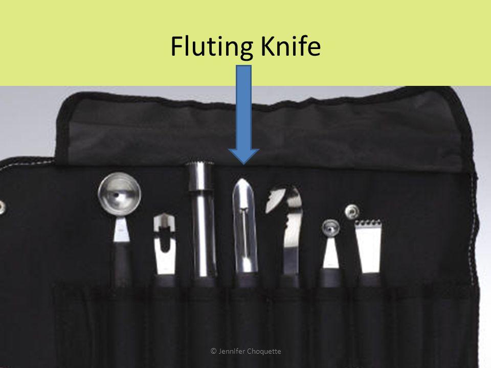 Fluting Knife © Jennifer Choquette