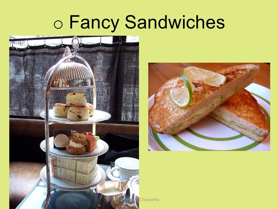 Fancy Sandwiches © Jennifer Choquette