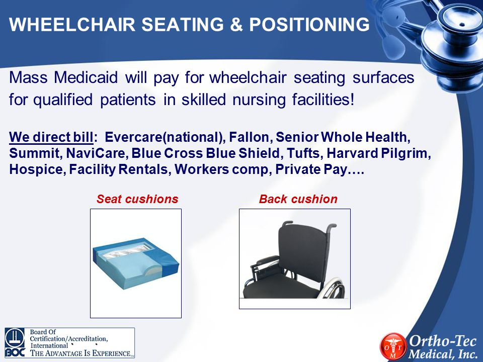 WHEELCHAIR SEATING & POSITIONING