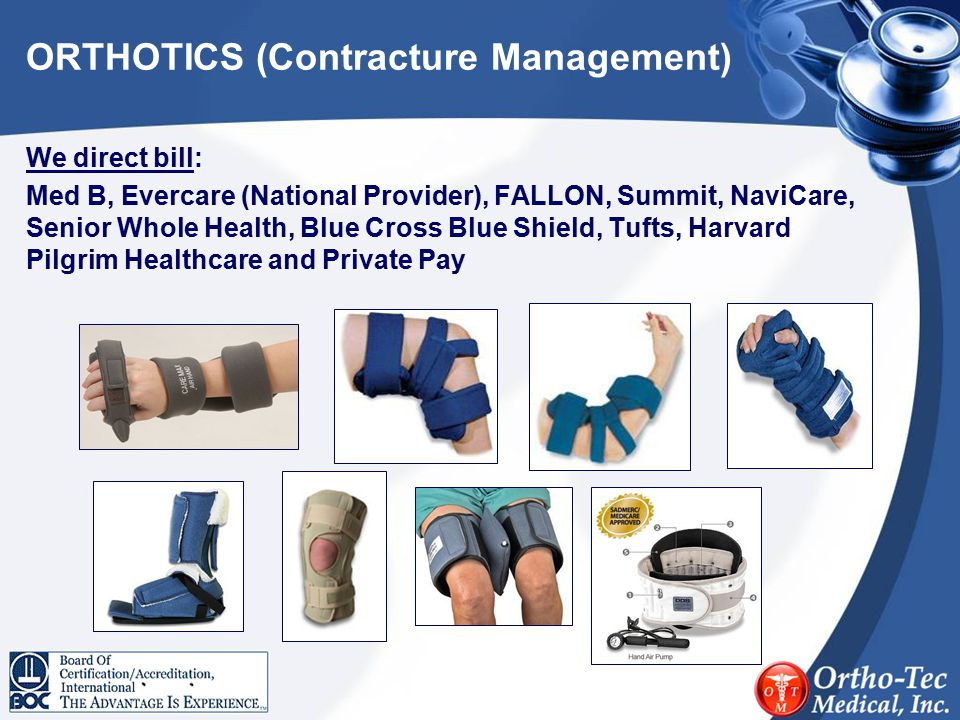 ORTHOTICS (Contracture Management)