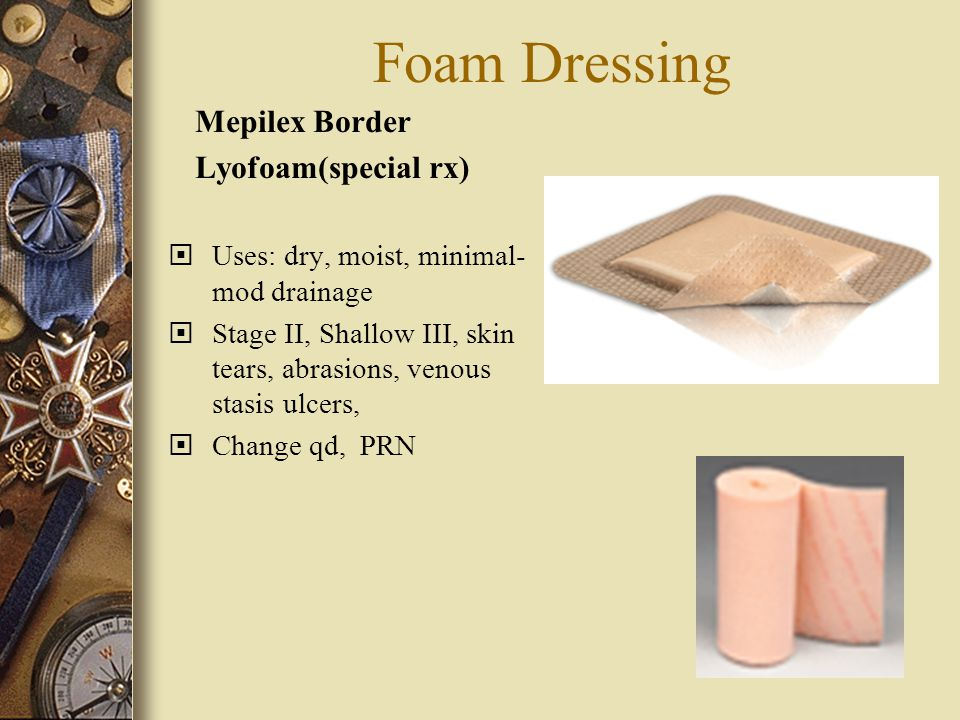 Foam Dressing Mepilex Border Lyofoam(special rx)