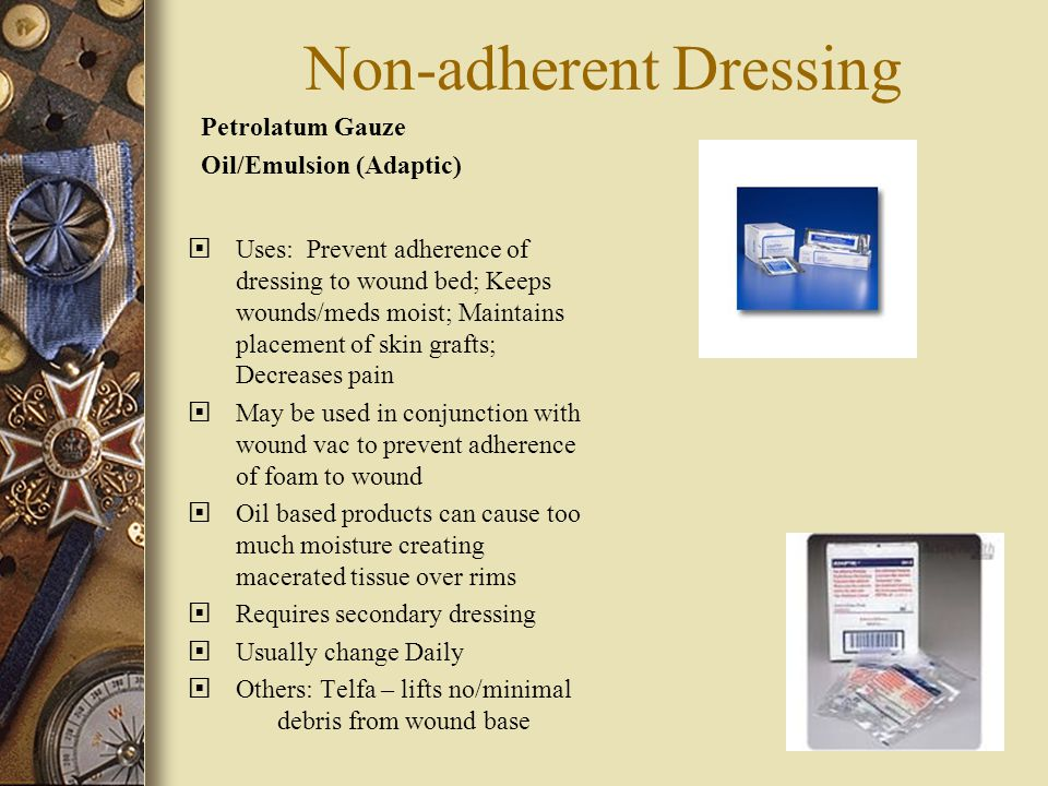 Non-adherent Dressing