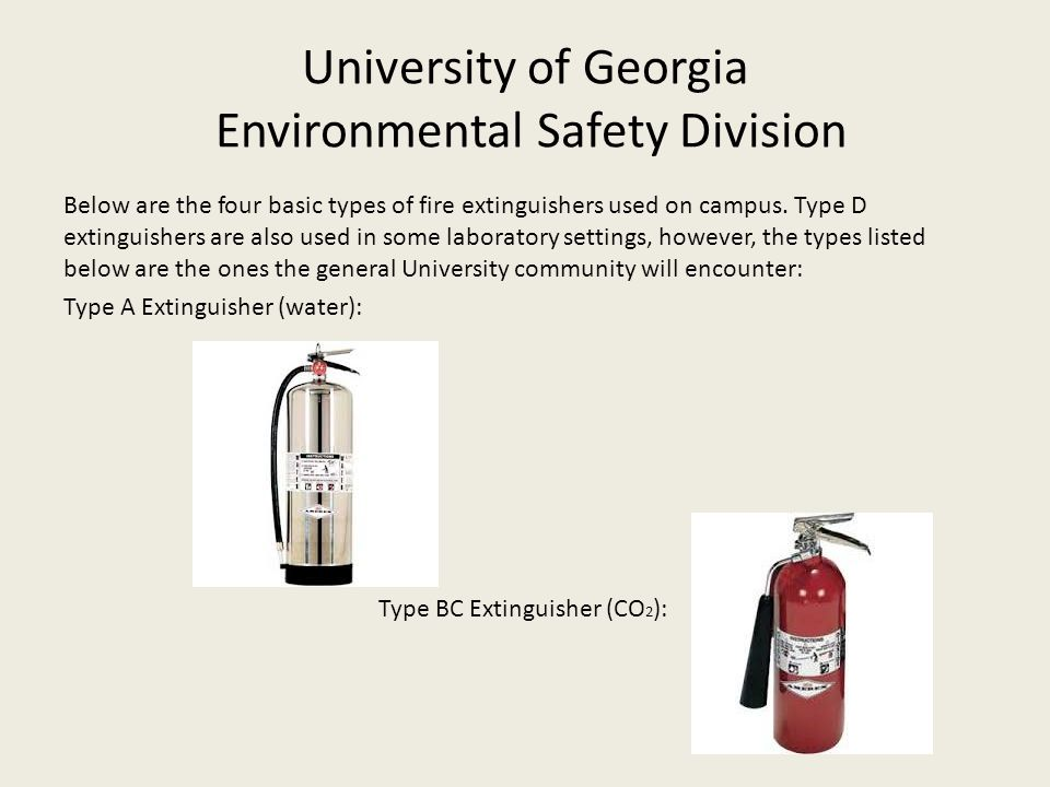 University+of+Georgia+Environmental+Safety+Division fire extinguisher training ppt download  at nearapp.co