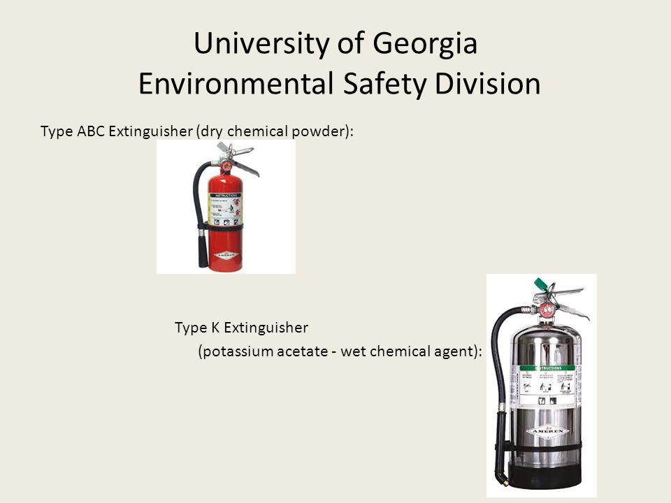 University of Georgia Environmental Safety Division