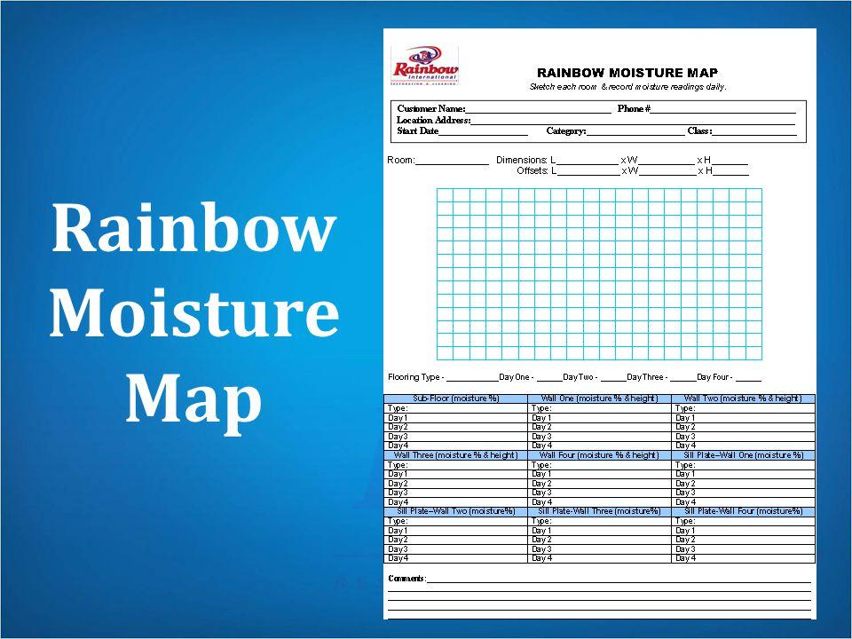 Rainbow Moisture Map