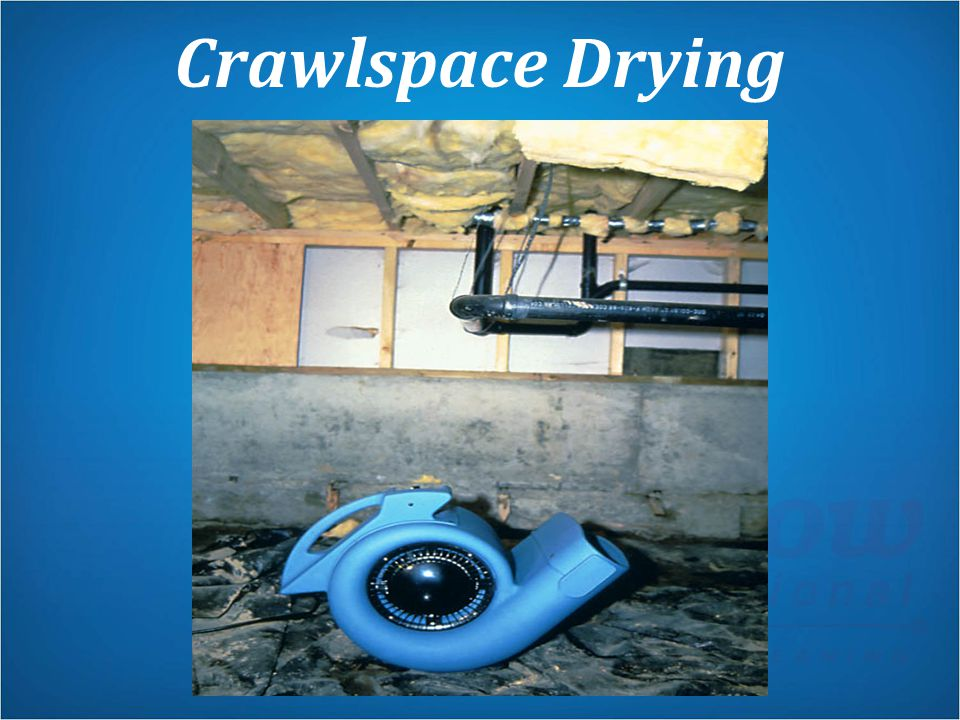 Crawlspace Drying