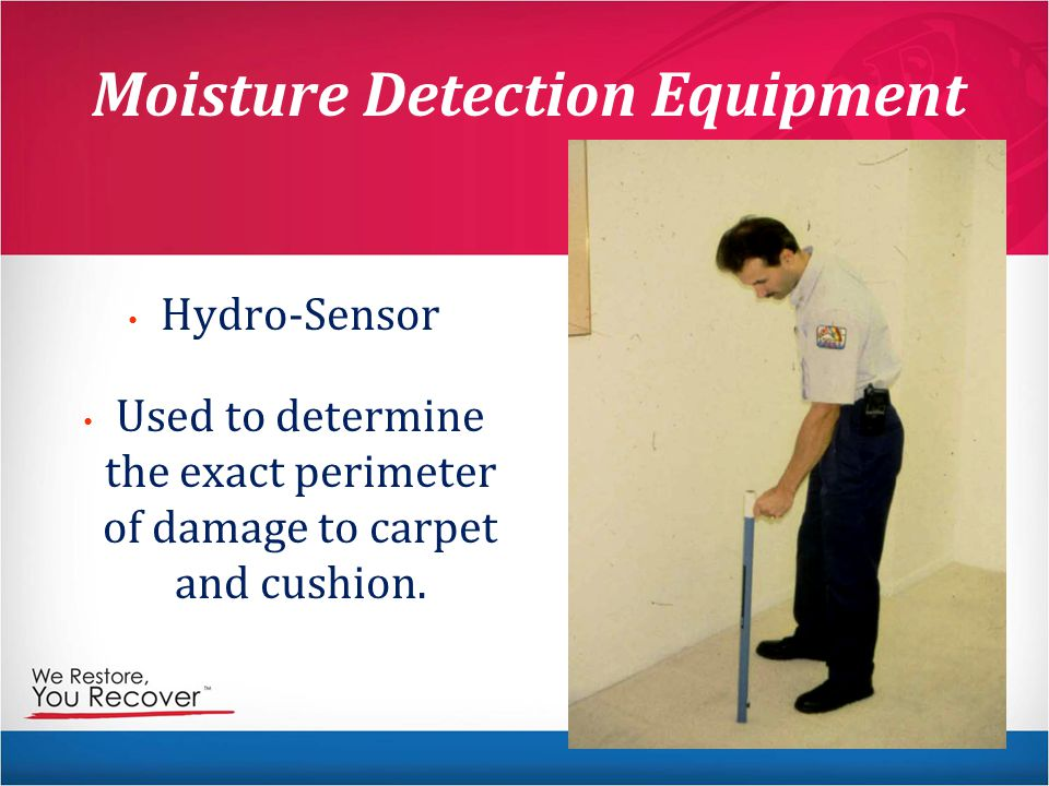 Moisture Detection Equipment