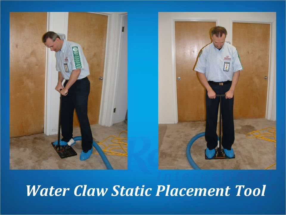Water Claw Static Placement Tool