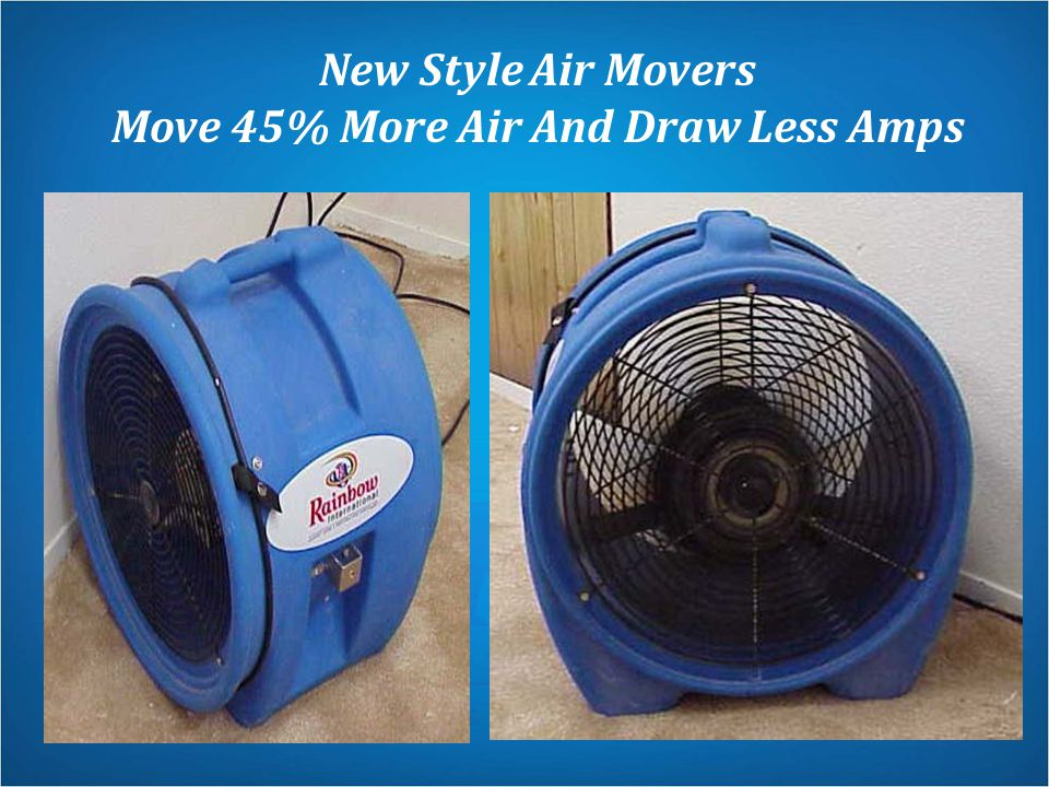 Move 45% More Air And Draw Less Amps