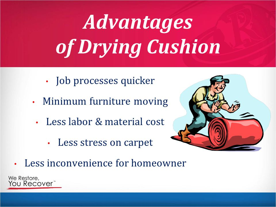 Advantages of Drying Cushion