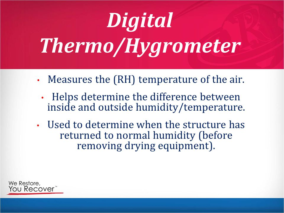 Digital Thermo/Hygrometer