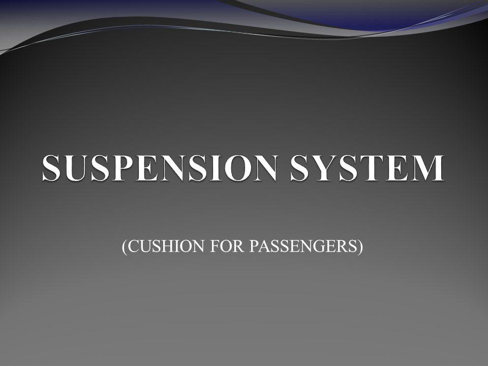 (CUSHION FOR PASSENGERS)