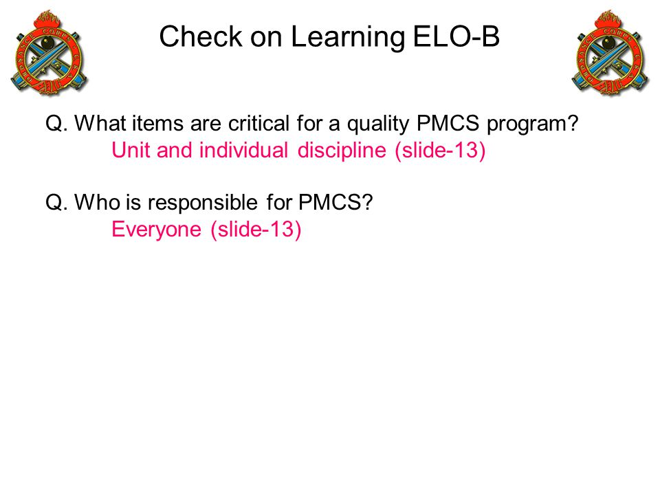 Check on Learning ELO-B