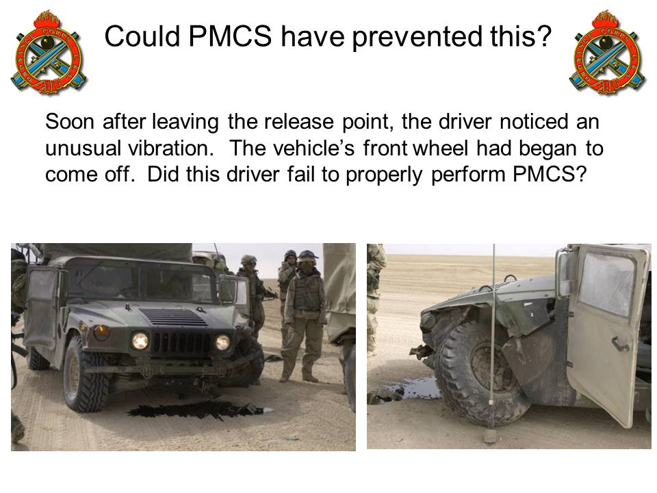 Could PMCS have prevented this