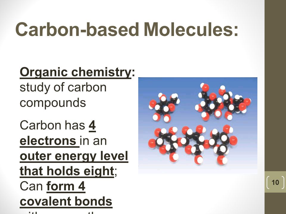 Carbon-based Molecules:
