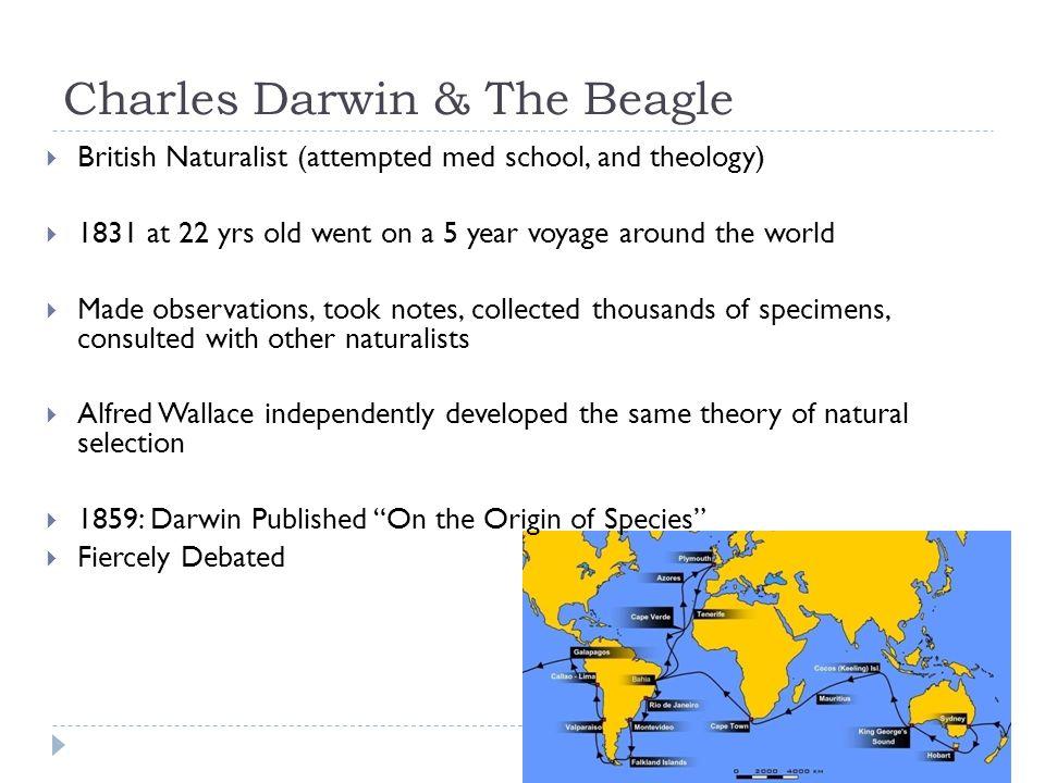 Charles Darwin & The Beagle
