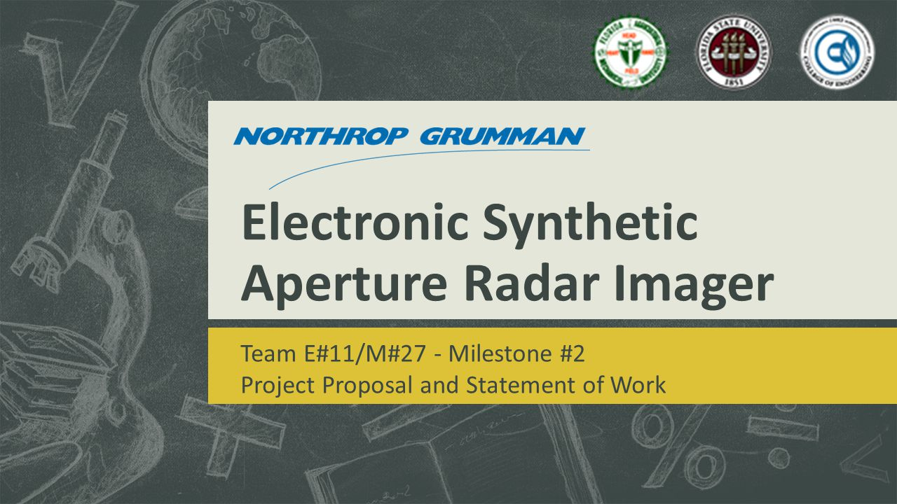 Electronic Synthetic Aperture Radar Imager