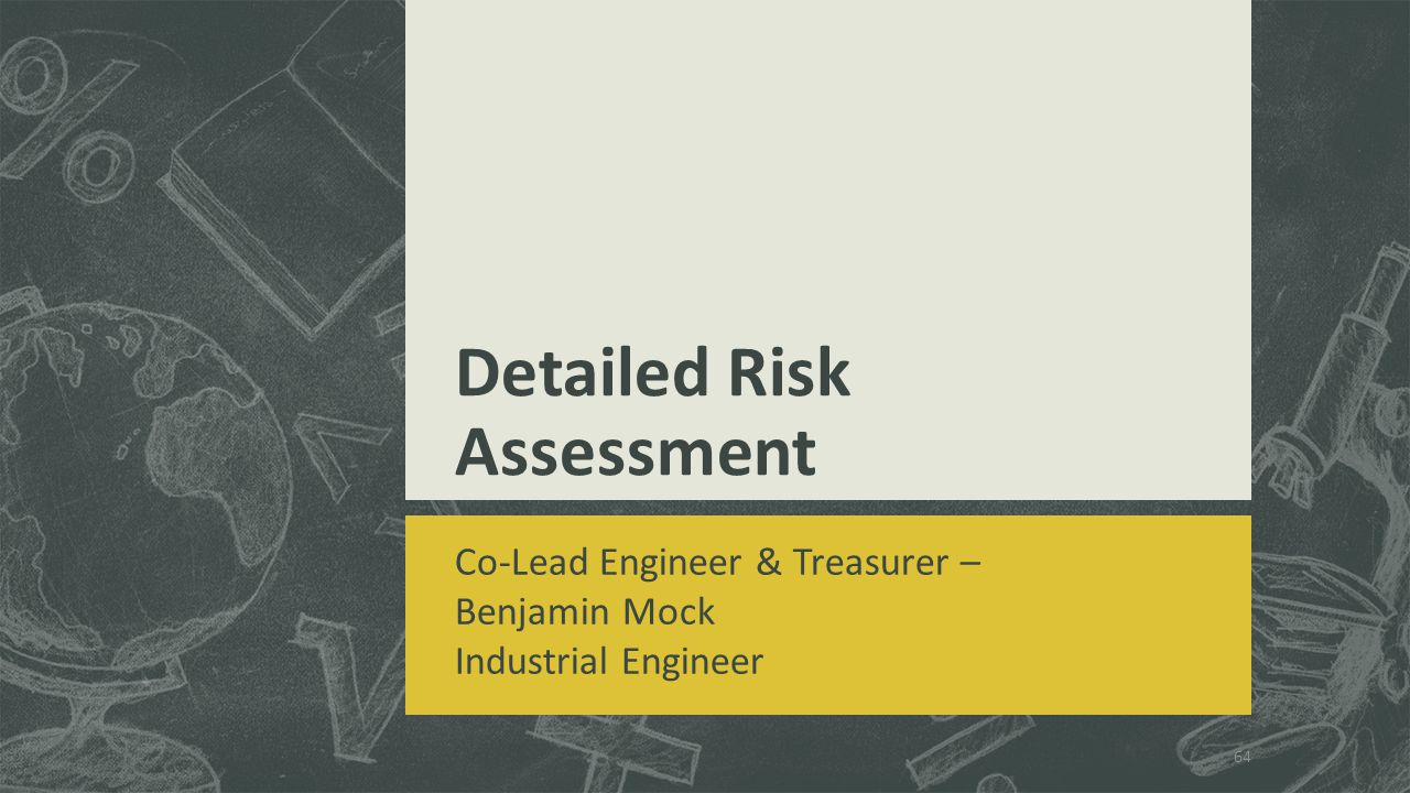 Detailed Risk Assessment