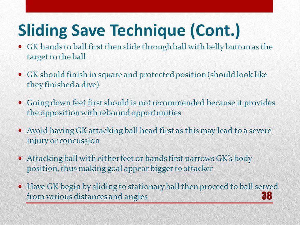 Sliding Save Technique (Cont.)