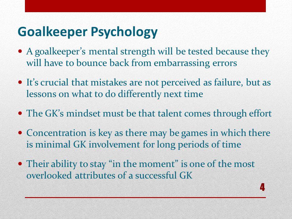 Goalkeeper Psychology