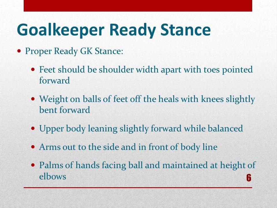 Goalkeeper Ready Stance