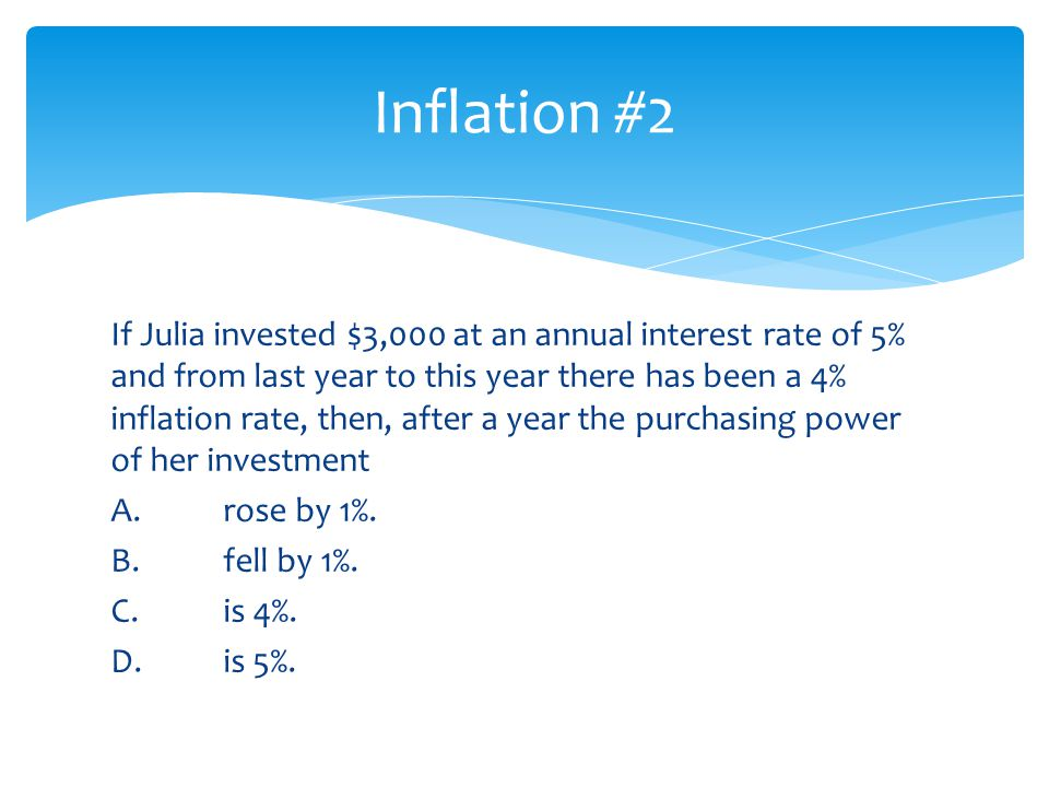 Inflation #2