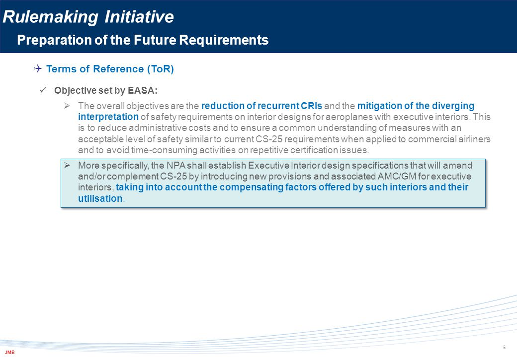 Rulemaking Initiative