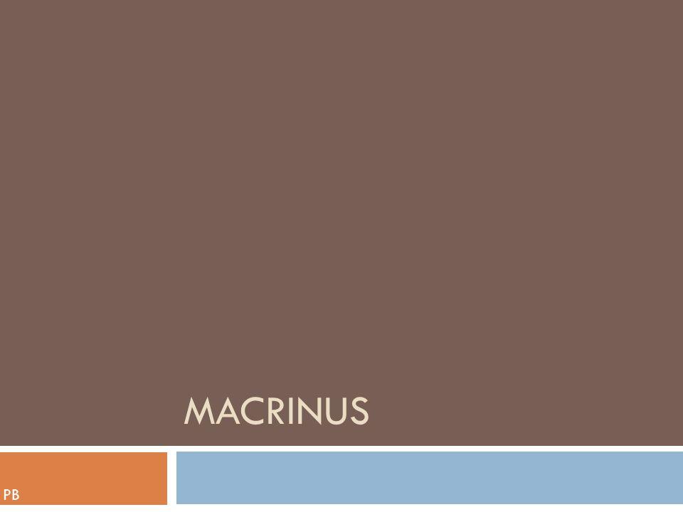 macrinus PB