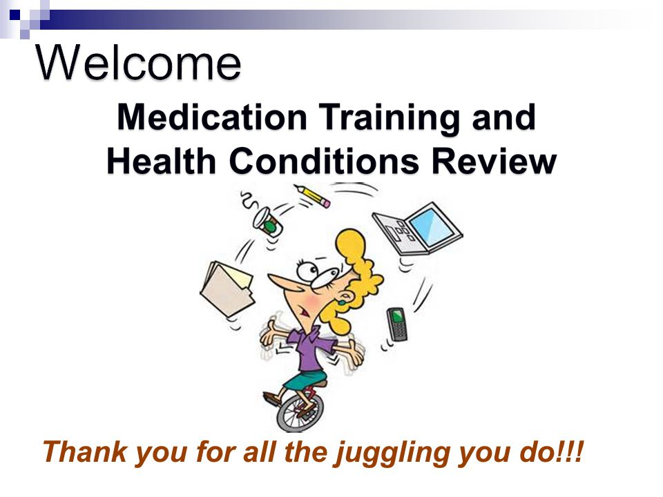 Welcome Thank you for all the juggling you do!!!