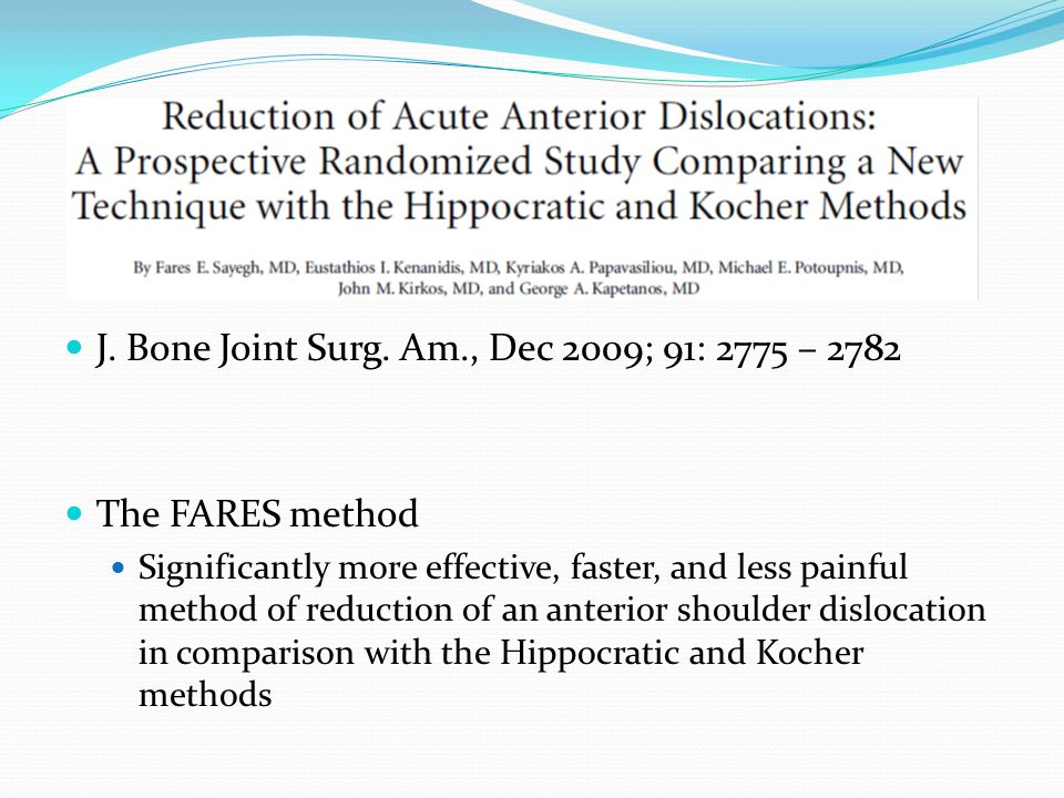 J. Bone Joint Surg. Am., Dec 2009; 91: 2775 – 2782