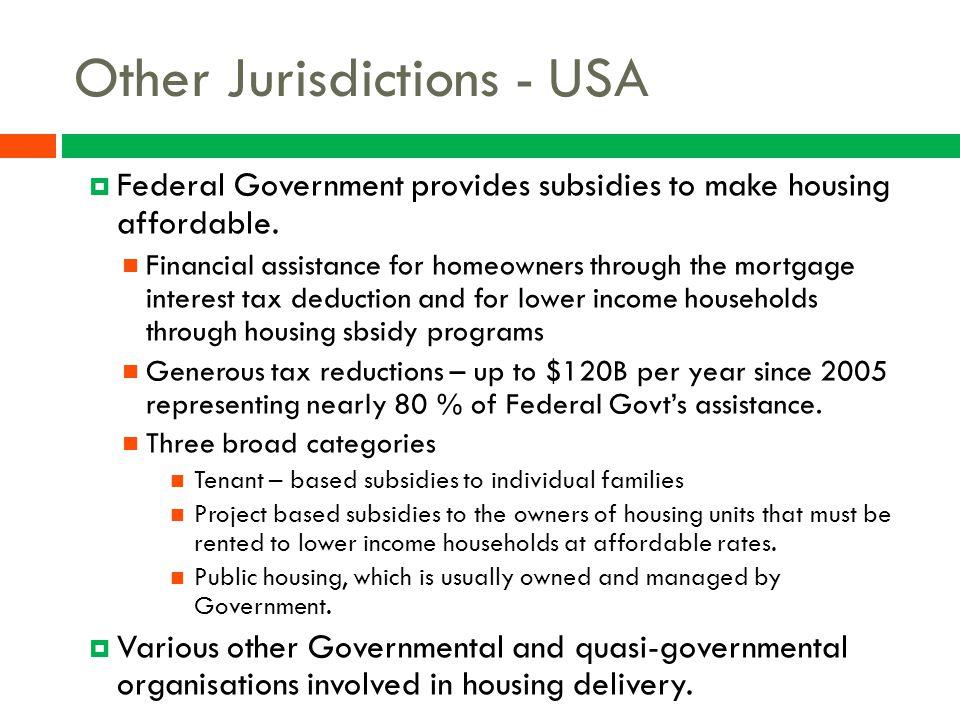 Other Jurisdictions - USA
