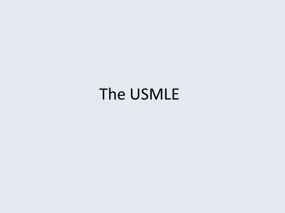 The USMLE