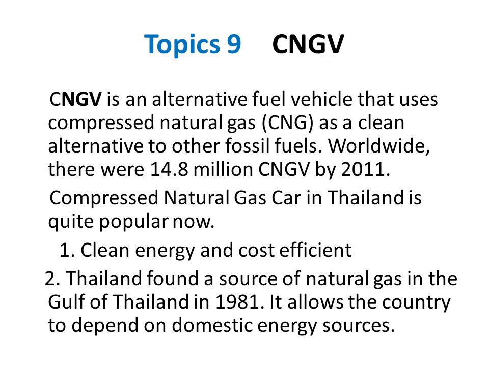 Topics 9 CNGV