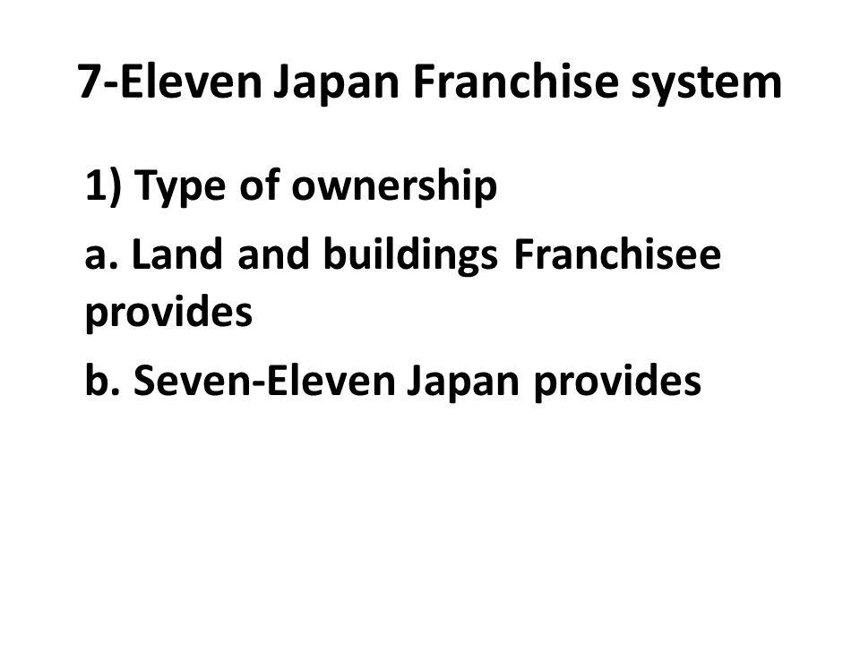 7-Eleven Japan Franchise system