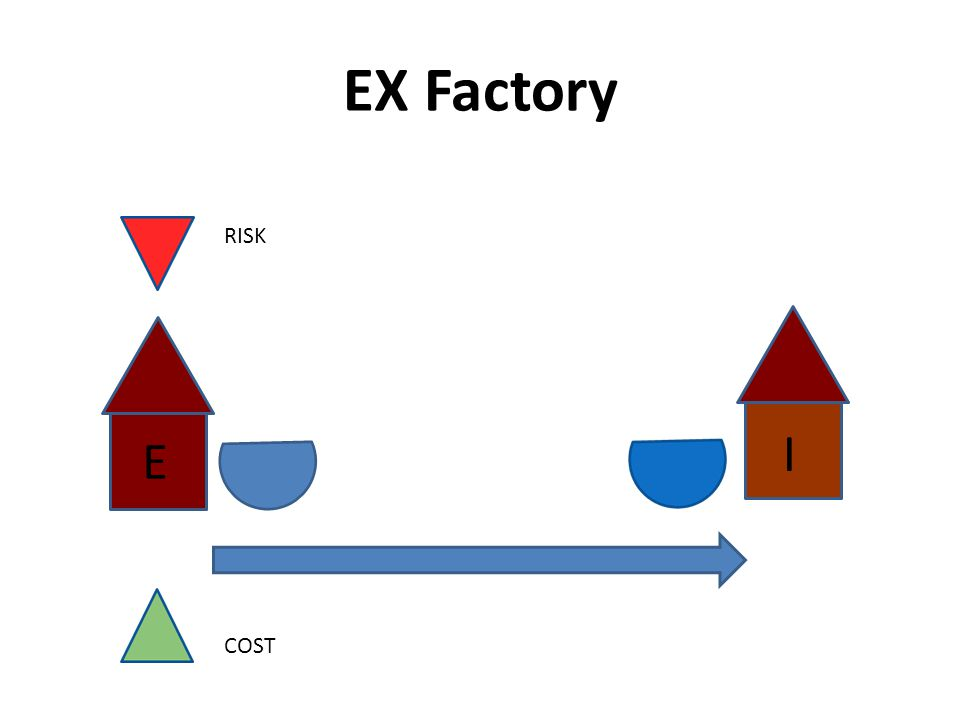 EX Factory I RISK E COST