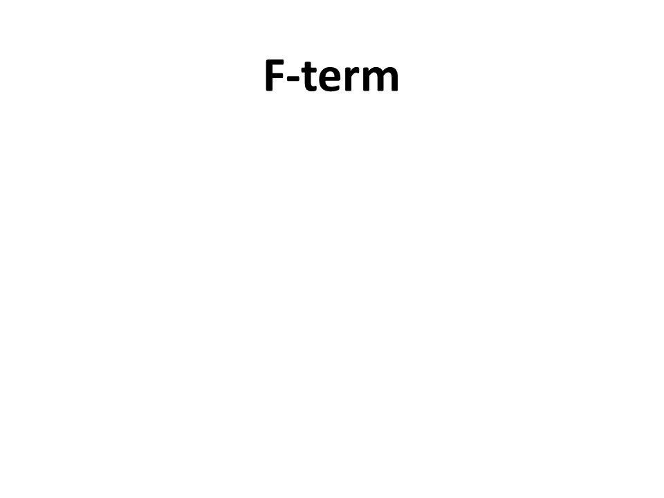 F-term