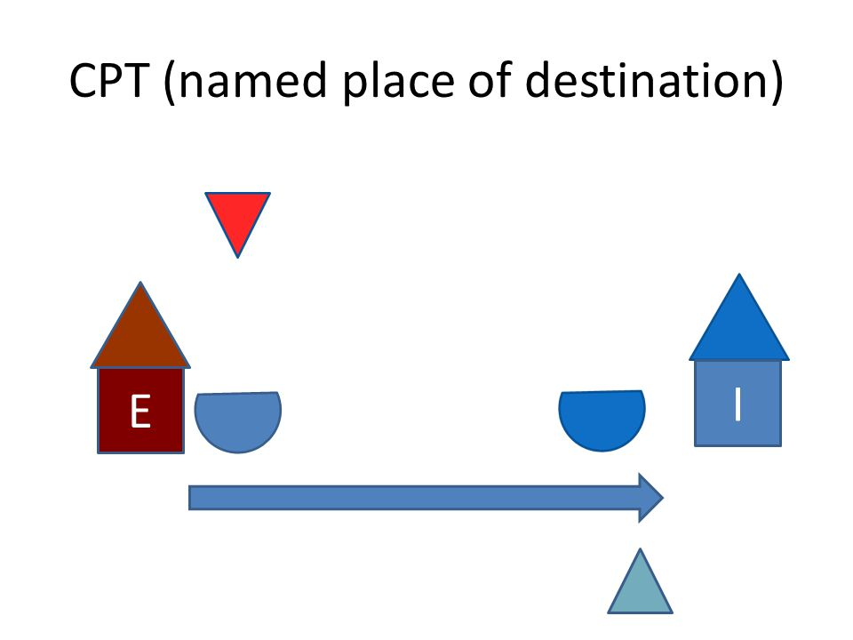 CPT (named place of destination)