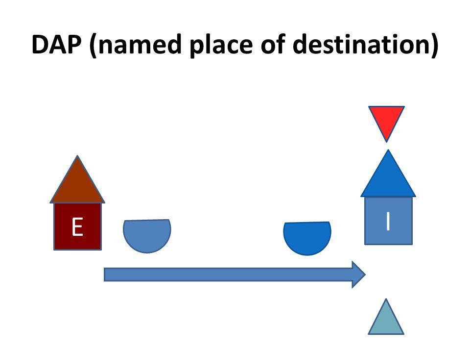 DAP (named place of destination)