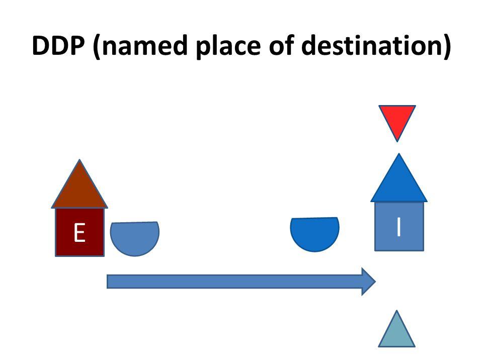 DDP (named place of destination)