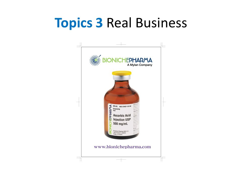Topics 3 Real Business